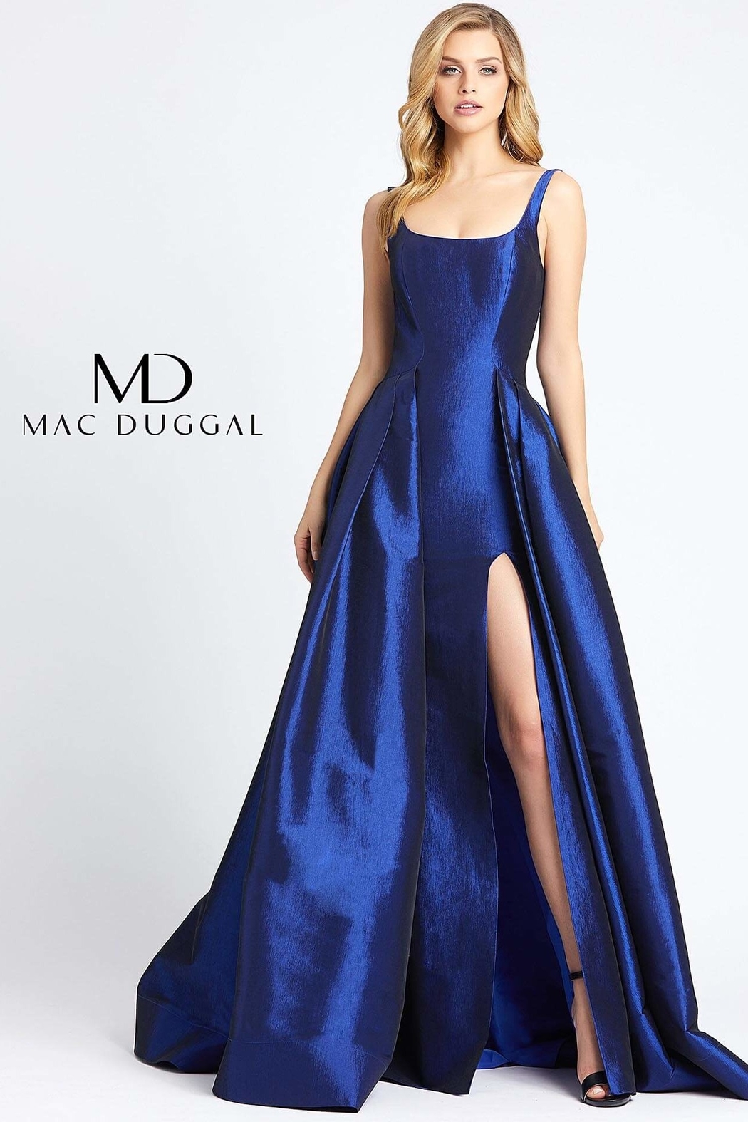 Mac Duggal Square Neckline Gown - Main Image