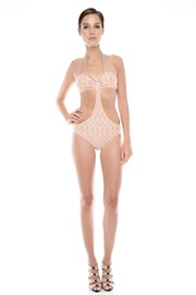 ALEXIS Knit One-Piece - Front full body