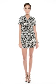 Shoptiques Product: Floral-Print Romper - Front full body