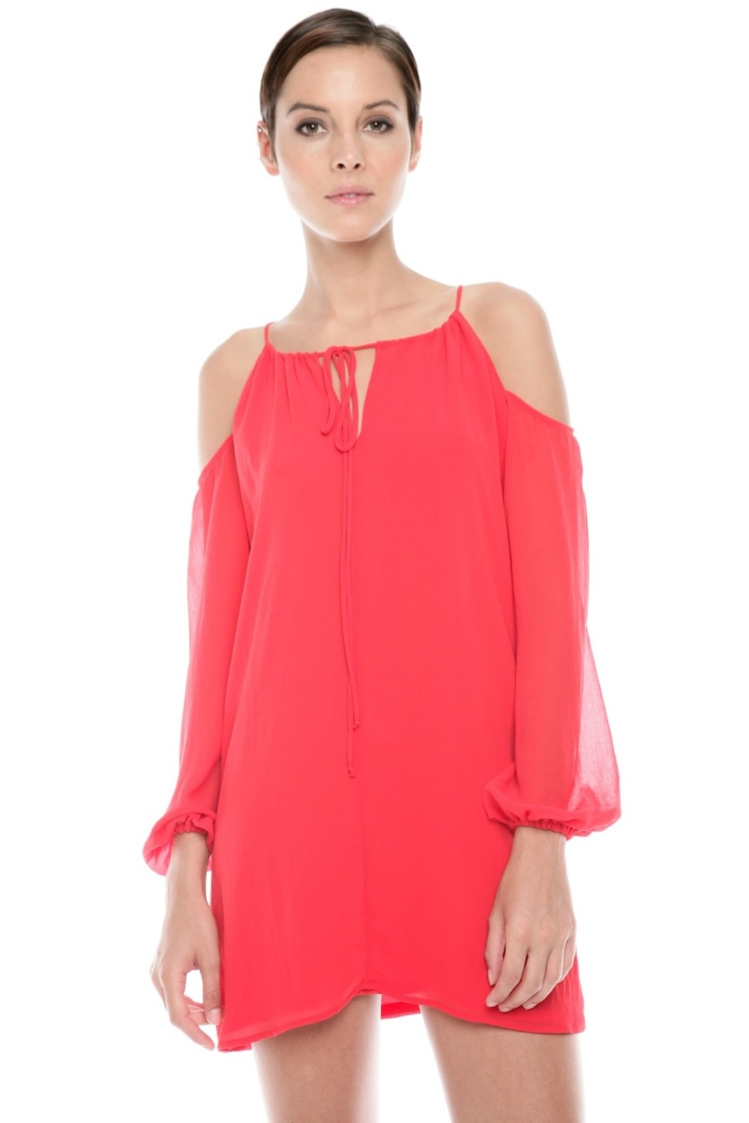 Rory Beca Cutout Shoulder Dress - Front Cropped Image
