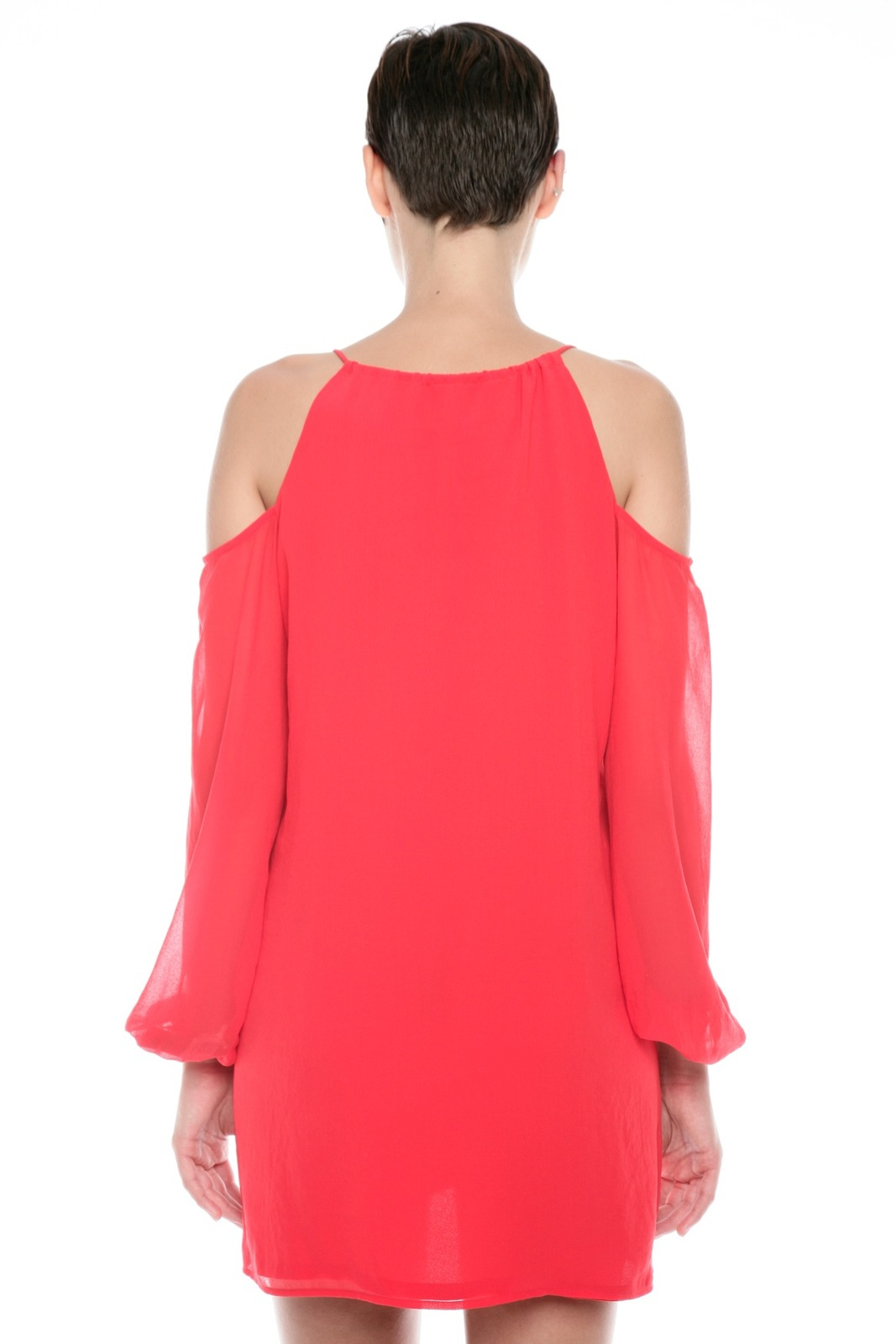 Rory Beca Cutout Shoulder Dress - Back Cropped Image