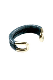 Shoptiques Product: Brass Leather Bracelet - Other