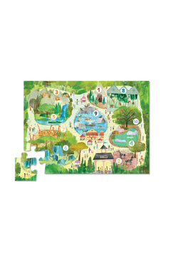 Crocodile Creek 123 Zoo 24 Piece Early Learning Puzzle - Alternate List Image