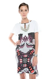 Shoptiques Product: Graphic Print Dress