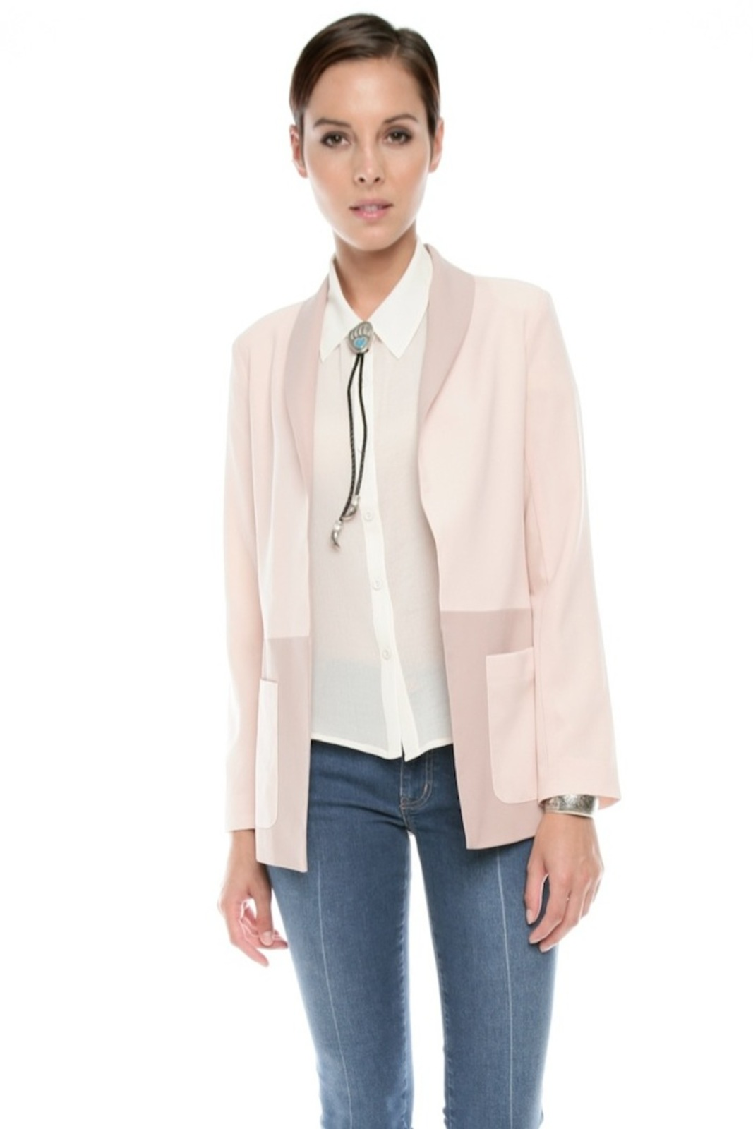 Finders Keepers Two-Tone Blazer - Main Image
