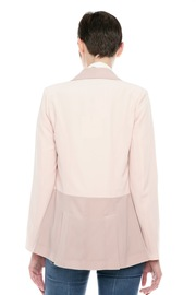 Finders Keepers Two-Tone Blazer - Back cropped