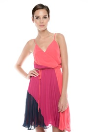 Shoptiques Product: Color-Block Pleat Dress