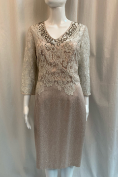 Kay Unger 124587 - Dress 2Fer Lace - Product List Image