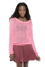 Shoptiques Product: Loose-Knit Pullover Sweater