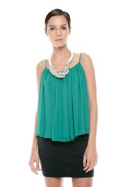 Ark & Co. Spaghetti-Strap Swing Top - Front cropped