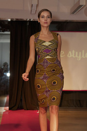 Shoptiques Product: Printed Sheath Dress - Other