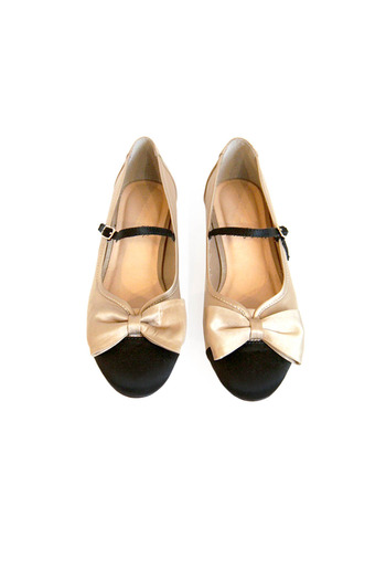 Shoptiques Product: Mary Jane Bow Flats - main