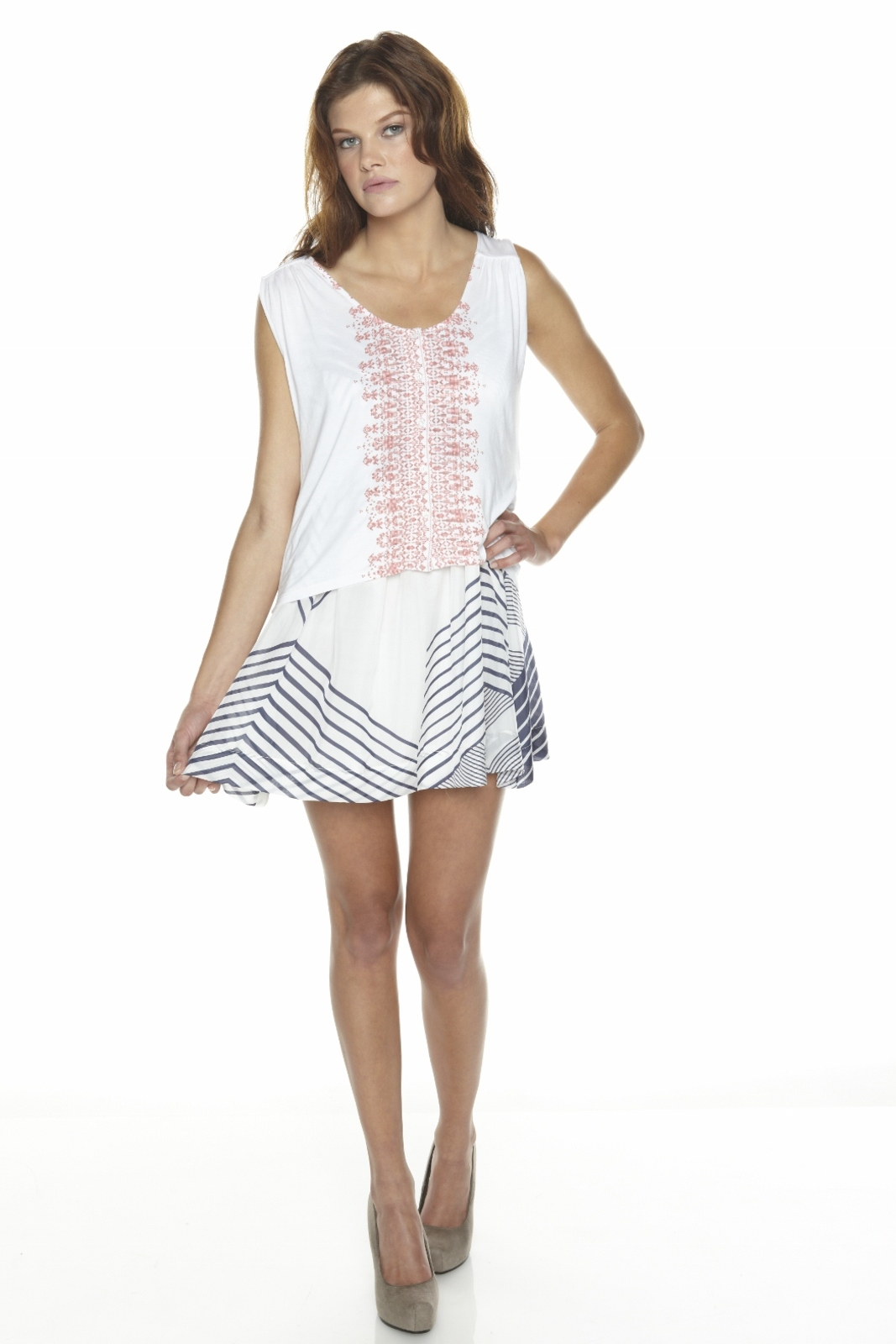 Townsen Button-Down Tank - Front Full Image