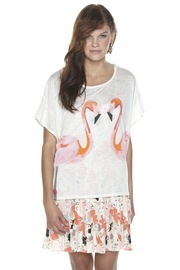 Torn by Ronny Kobo Flamingo Tee - Front cropped