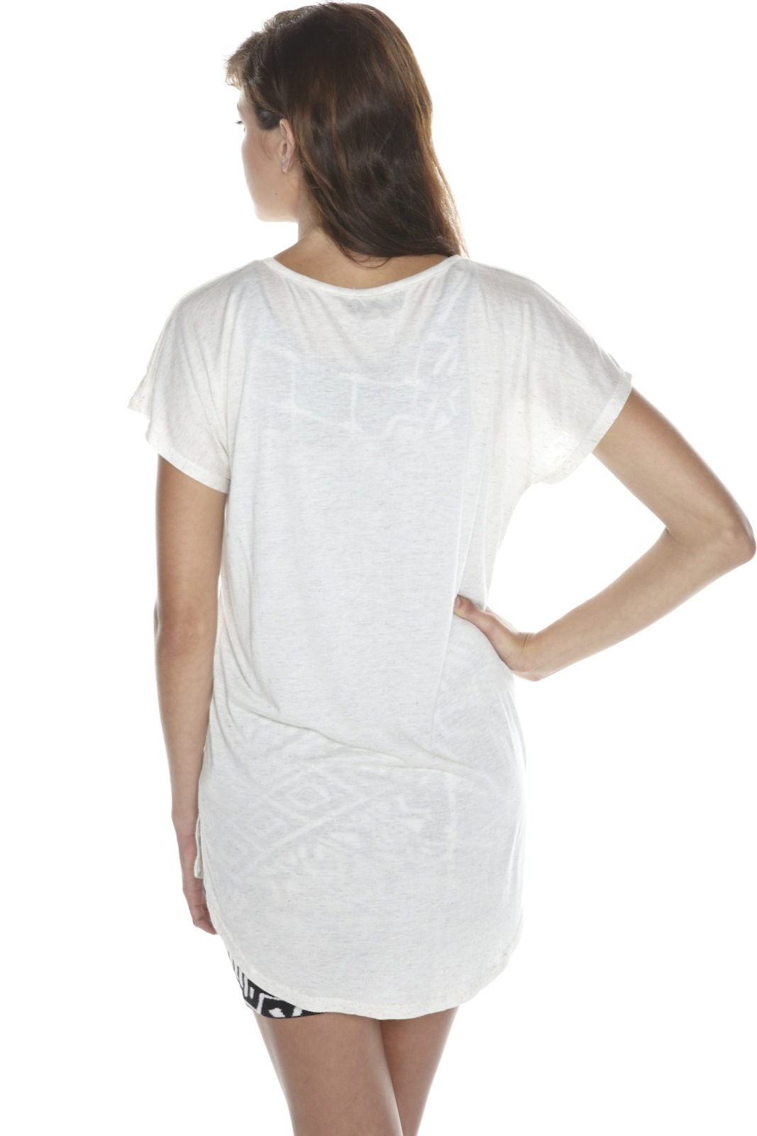 Torn by Ronny Kobo Skull Tee - Back Cropped Image