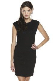 Plastic Island Cap-Sleeve Dress - Front cropped