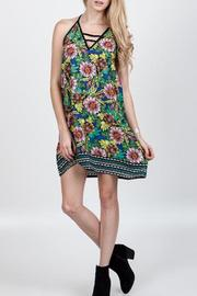 Floral Mini Dress - Front cropped