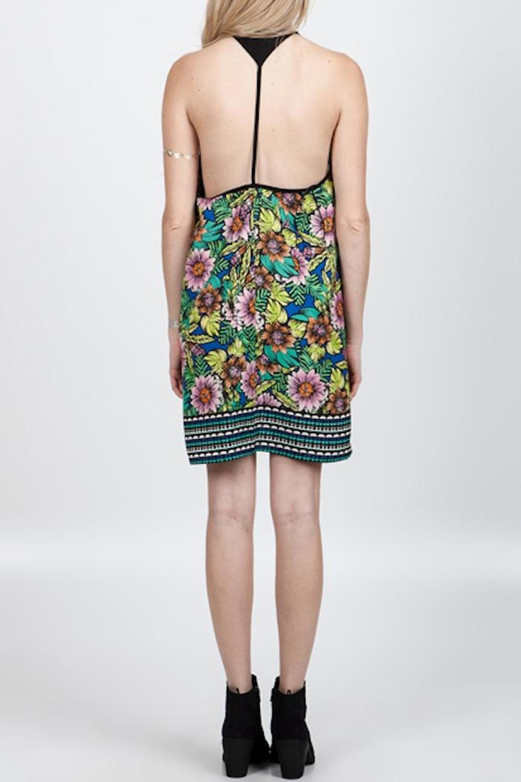 Floral Mini Dress - Front Full Image