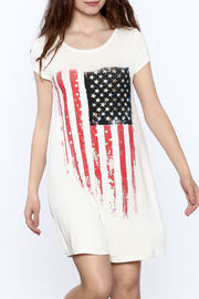 12pm by Mon Ami American Flag Dress - Product Mini Image