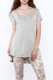 12pm by Mon Ami Crossed Out Tee - Front cropped