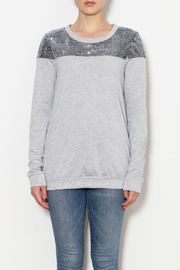 12pm by Mon Ami Sequin Sweatshirt - Product Mini Image