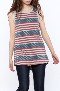 12pm by Mon Ami Stars And Stripes Tank - Product List Image