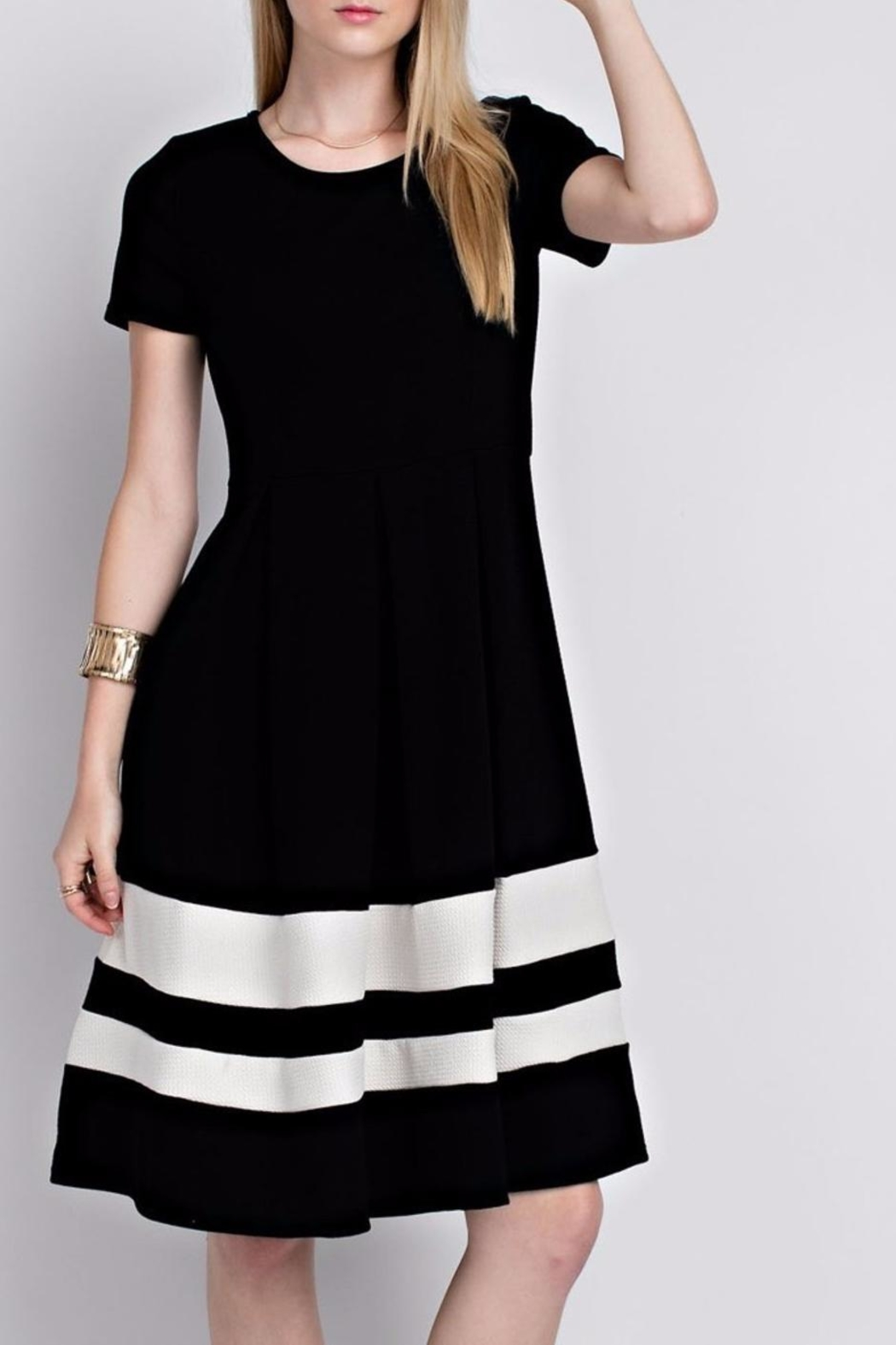 12pm by Mon Ami Black Eloise Dress - Main Image