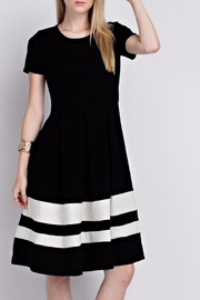 12pm by Mon Ami Black Eloise Dress - Product Mini Image