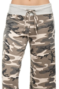 12pm by Mon Ami Camouflage Wide Pants - Alternate List Image