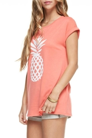 12pm by Mon Ami Coral Pineapple Top - Front full body