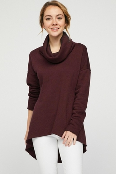12pm by Mon Ami Cozy Cowl Tunic - Product List Image