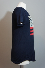 12pm by Mon Ami Denim-Accent Usa Tee - Front full body