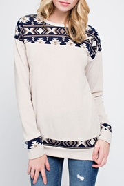 12pm by Mon Ami Fireside Sweater - Product Mini Image
