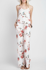 12pm by Mon Ami Floral Jersey Jumpsuit - Product Mini Image