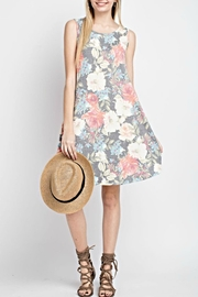 12pm by Mon Ami Floral Sleeveless Dress - Product Mini Image