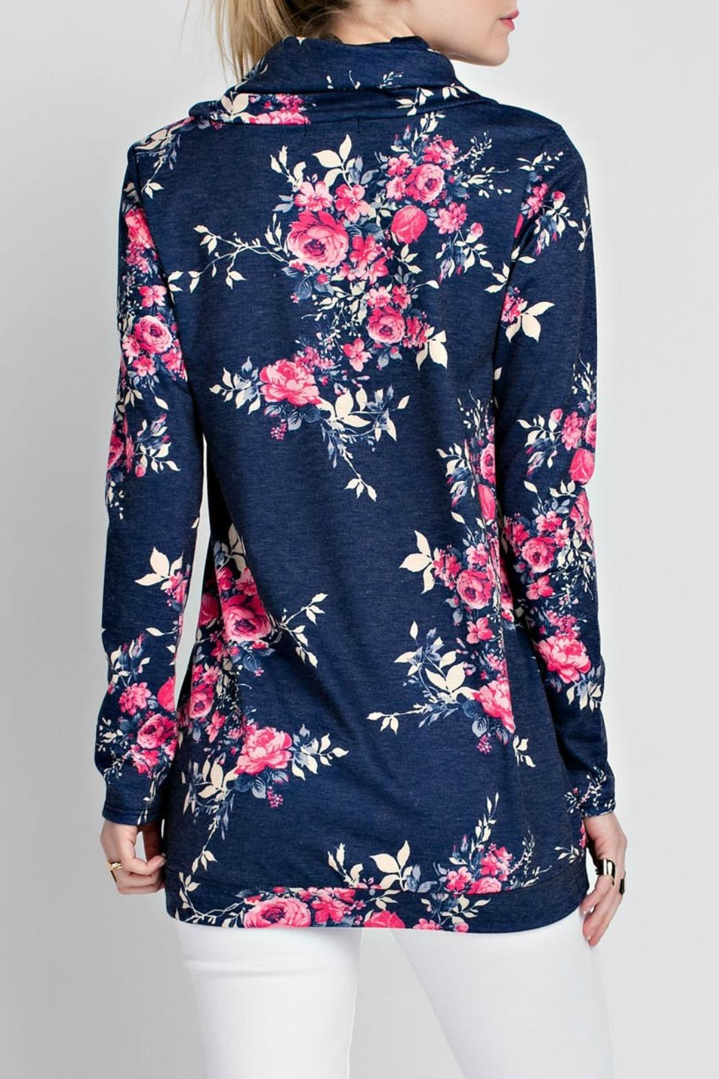 12pm by Mon Ami Jenny Floral Sweatshirt - Front Full Image