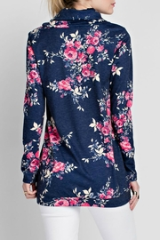 12pm by Mon Ami Jenny Floral Sweatshirt - Front full body
