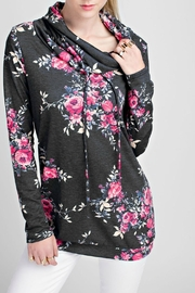 12pm by Mon Ami Jenny Floral Sweatshirt - Front cropped