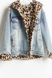 12pm by Mon Ami Leopard Denim - Other