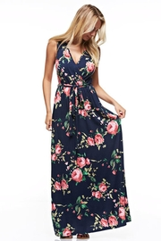 12pm by Mon Ami Navy Floral Maxi - Product Mini Image
