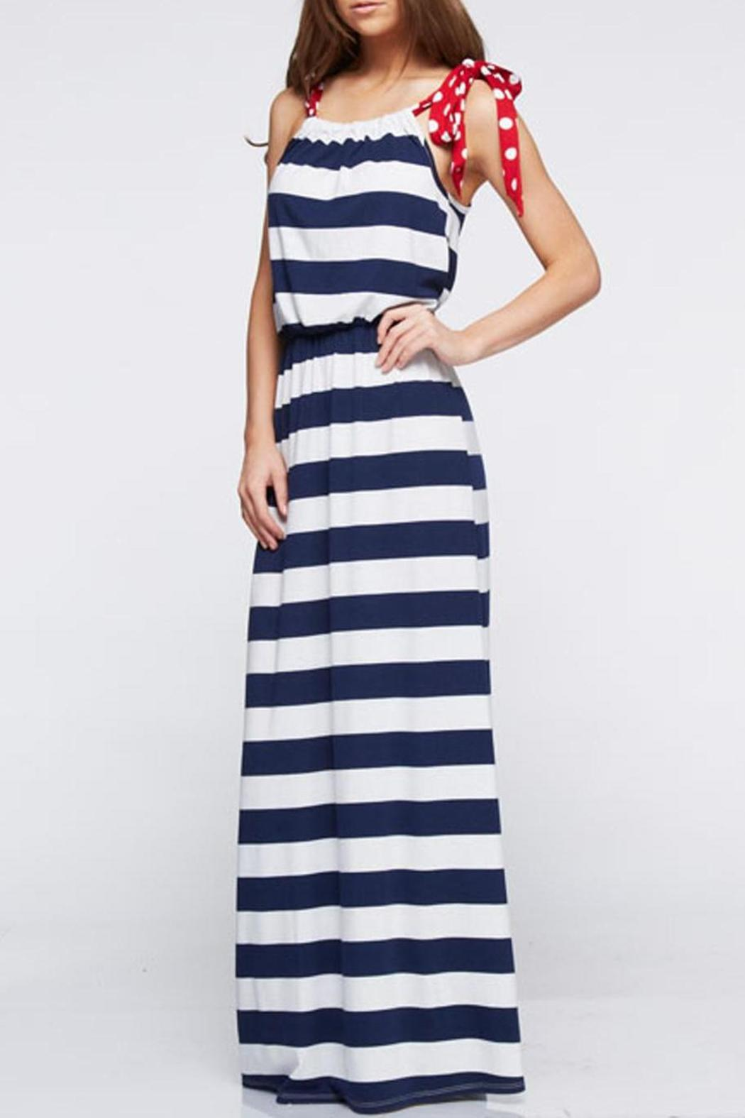 197cea2ef4a 12pm by Mon Ami Patriotic Maxi Dress from Texas by Haute Boutique ...