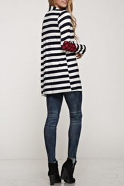 12pm by Mon Ami Plaid Patch Cardi - Product Mini Image
