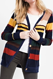 12pm by Mon Ami Primary Color Cardigan - Front cropped