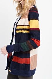 12pm by Mon Ami Primary Color Cardigan - Front full body