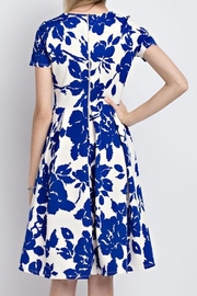 12pm by Mon Ami Royal Blue Floral - Back cropped