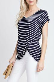 12pm by Mon Ami Short Sleeve Stripes - Product Mini Image