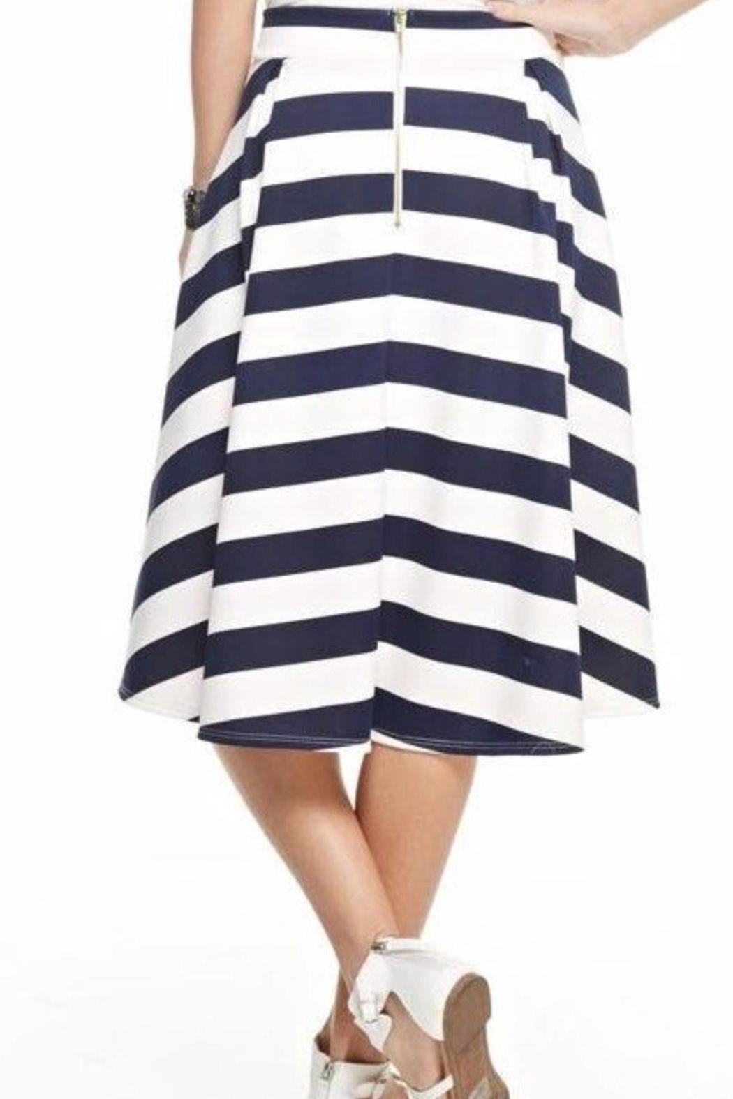12pm by mon ami striped midi skirt from canada by