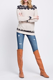 12pm by Mon Ami The Agnes Sweater - Back cropped