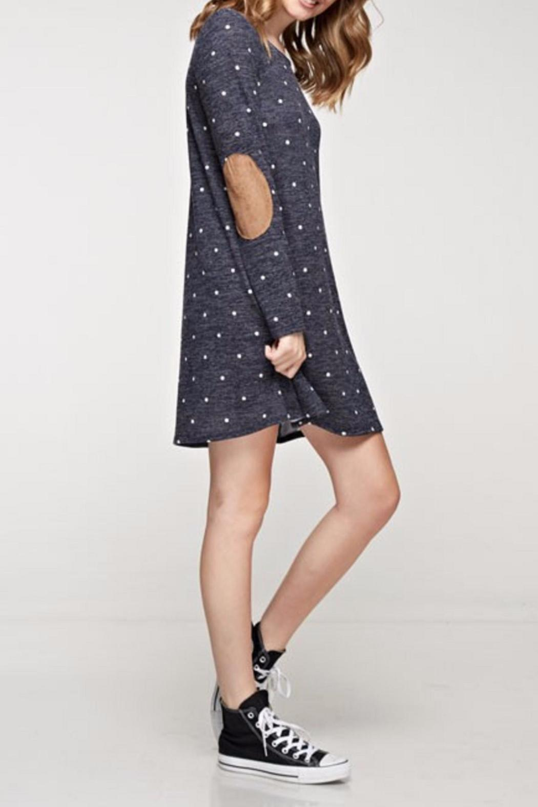 12pm by Mon Ami The Galina Dress - Side Cropped Image