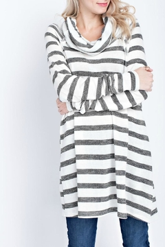 12pm by Mon Ami Tina Striped Tunic - Alternate List Image